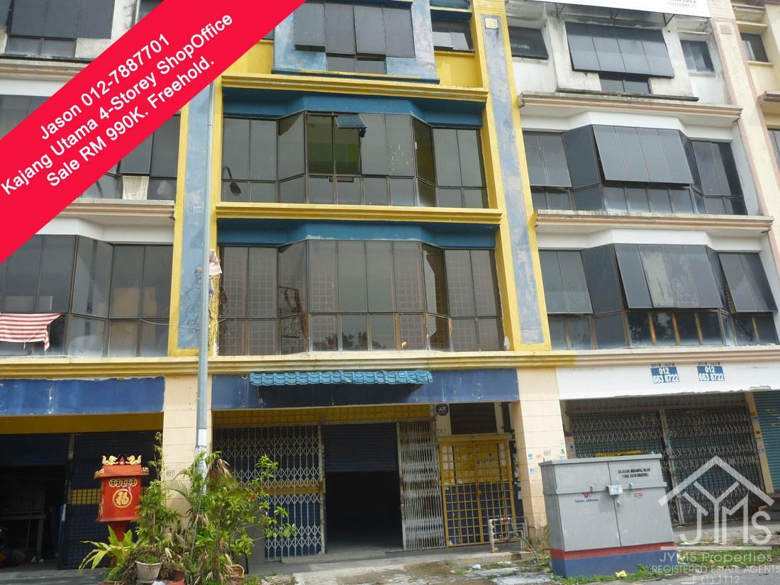 Kajang Utama Freehold 4 Storey Shop Office